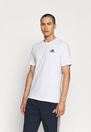 ESSENTIALS - T-shirt basique - white/black