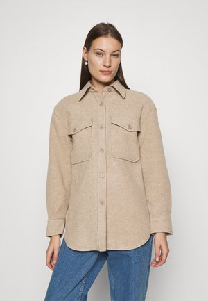 JACKET - Short coat - beige medium