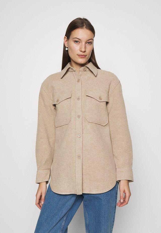 JACKET - Short coat - beige medium