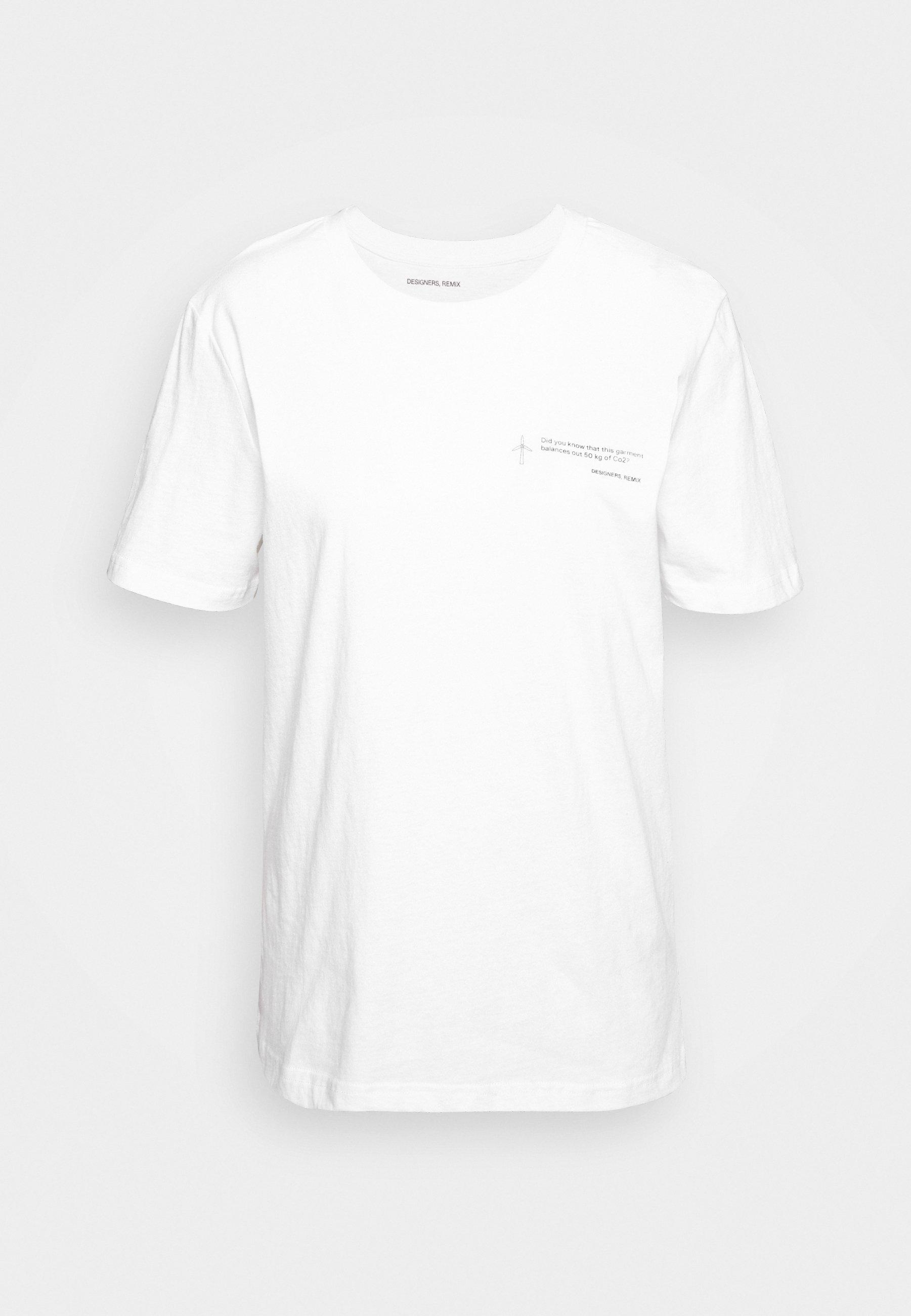 Stanley Print Tee White T Skjorte | Designers Remix | T