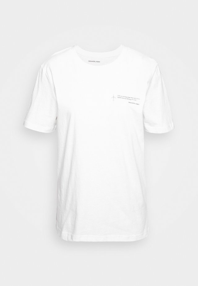 STANLEY TEE - T-shirt con stampa - white
