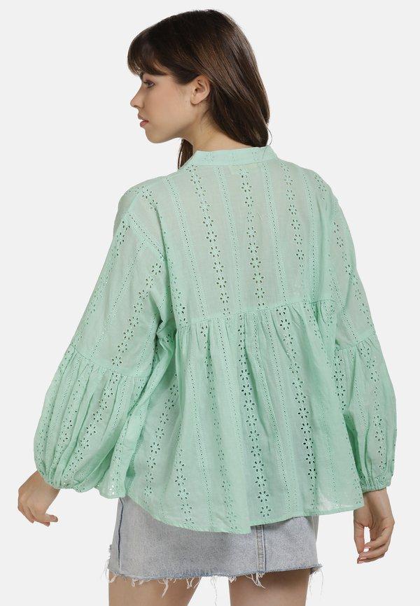myMo BLUSE - Bluzka - mint/zielony QYPG
