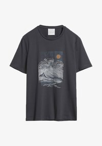 ARMEDANGELS - JAAMES BIG WAVE - Print T-shirt - acid black - 0