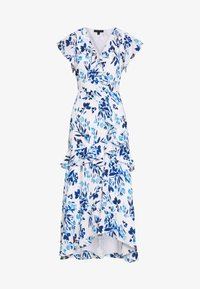 Banana Republic - VNECK HI LOW - Robe longue - blue - 4