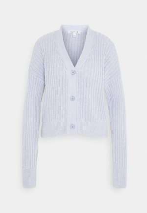 CROPPED - Cardigan - light blue
