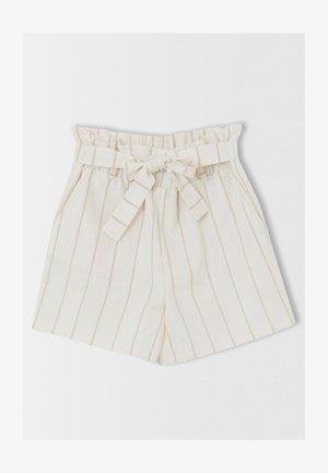 GIRL SHORTS - Shorts - beige