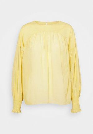 SALMA - Blouse - strong mustard