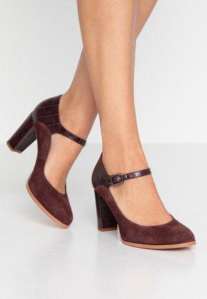 KAYLIN ALBA - Classic heels - burgundy