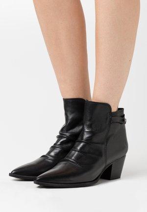 ELMA - Classic ankle boots - uraco black