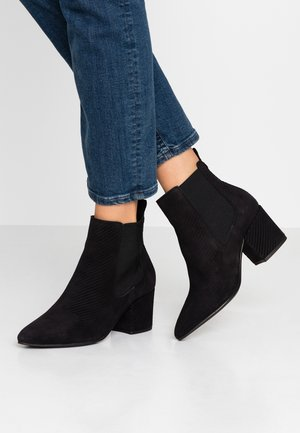 WIDE FIT BIACIA CHELSEA - Ankle Boot - black