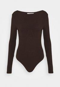 4th & Reckless - PEPPA BODYSUIT - Long sleeved top - brown - 0