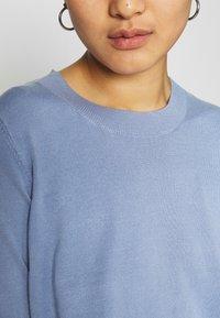 Lindex - POLLY - Basic T-shirt - light blue - 4