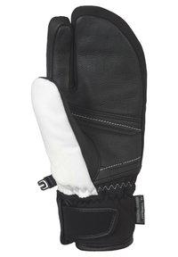 Reusch - TOMKE STORMBLOXX™ LOBSTER - Mittens - white / black - 2