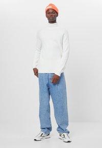Bershka - Jeans baggy - blue - 1