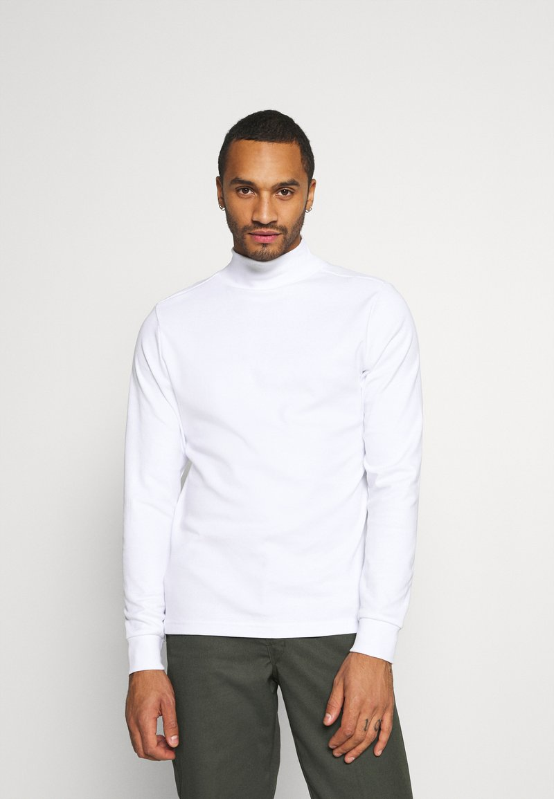 Redefined Rebel - JANICE HIGH NECK - Long sleeved top - white