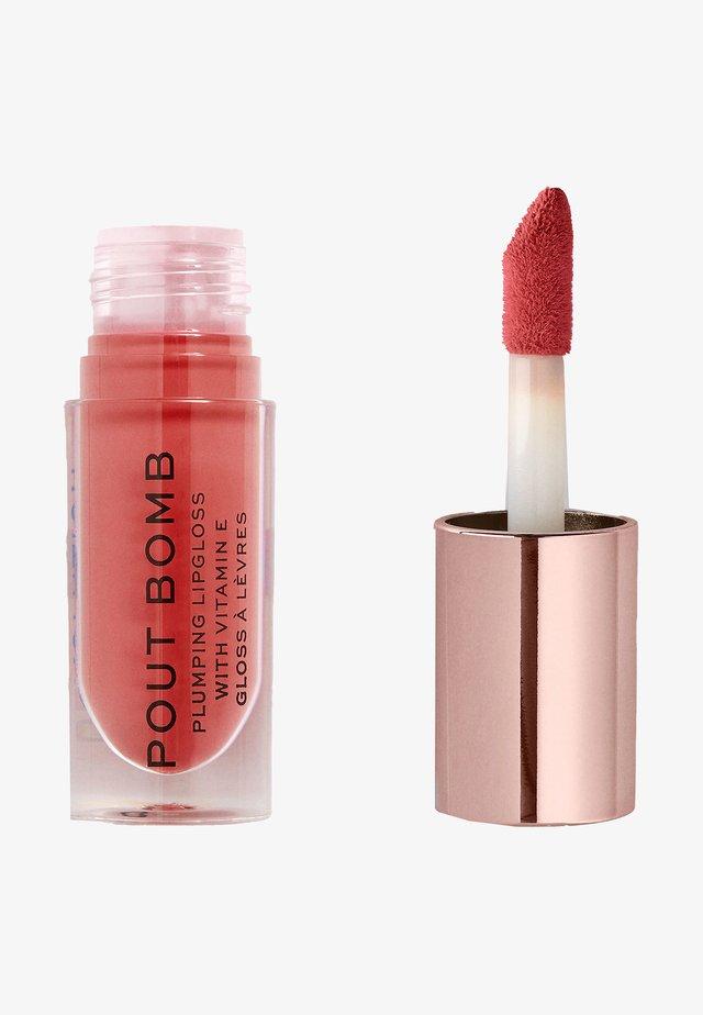 POUT BOMB PLUMPING GLOSS LIPGLOSS - Lip gloss - peachy