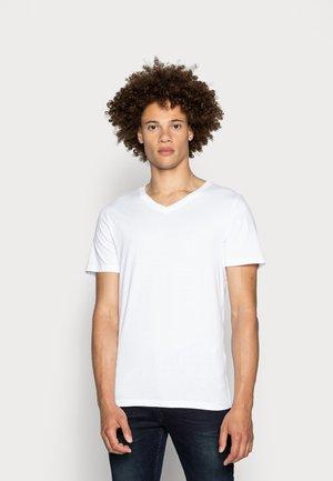 JJEPLAIN  - T-shirts basic - white