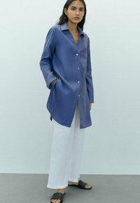 Massimo Dutti - Chemisier - dark blue - 0