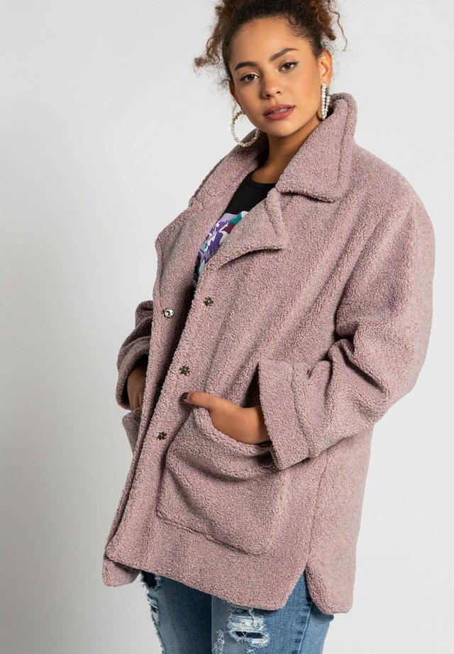 Winter coat - flieder