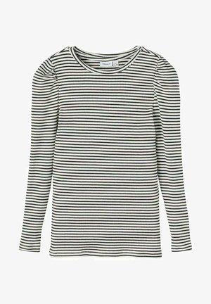 GESTREIFTES - Long sleeved top - dark navy