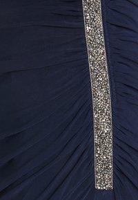 Adrianna Papell - ONE SHOULDER DRESS - Společenské šaty - midnight - 2