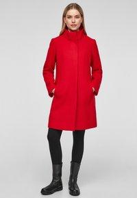 s.Oliver - Classic coat - red - 1