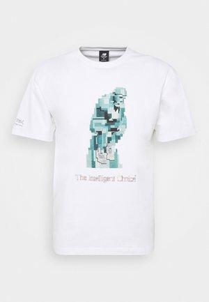 ATHLETICS ARTIST LISTER TEE - Print T-shirt - white