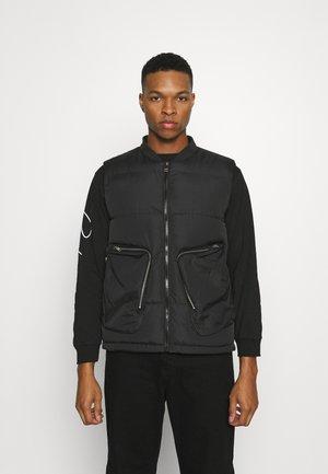 ZAC - Waistcoat - black