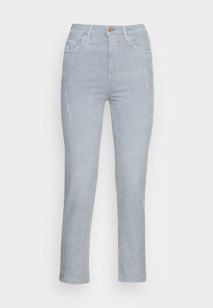 CROPPED SLIM - Jeans slim fit - light blue
