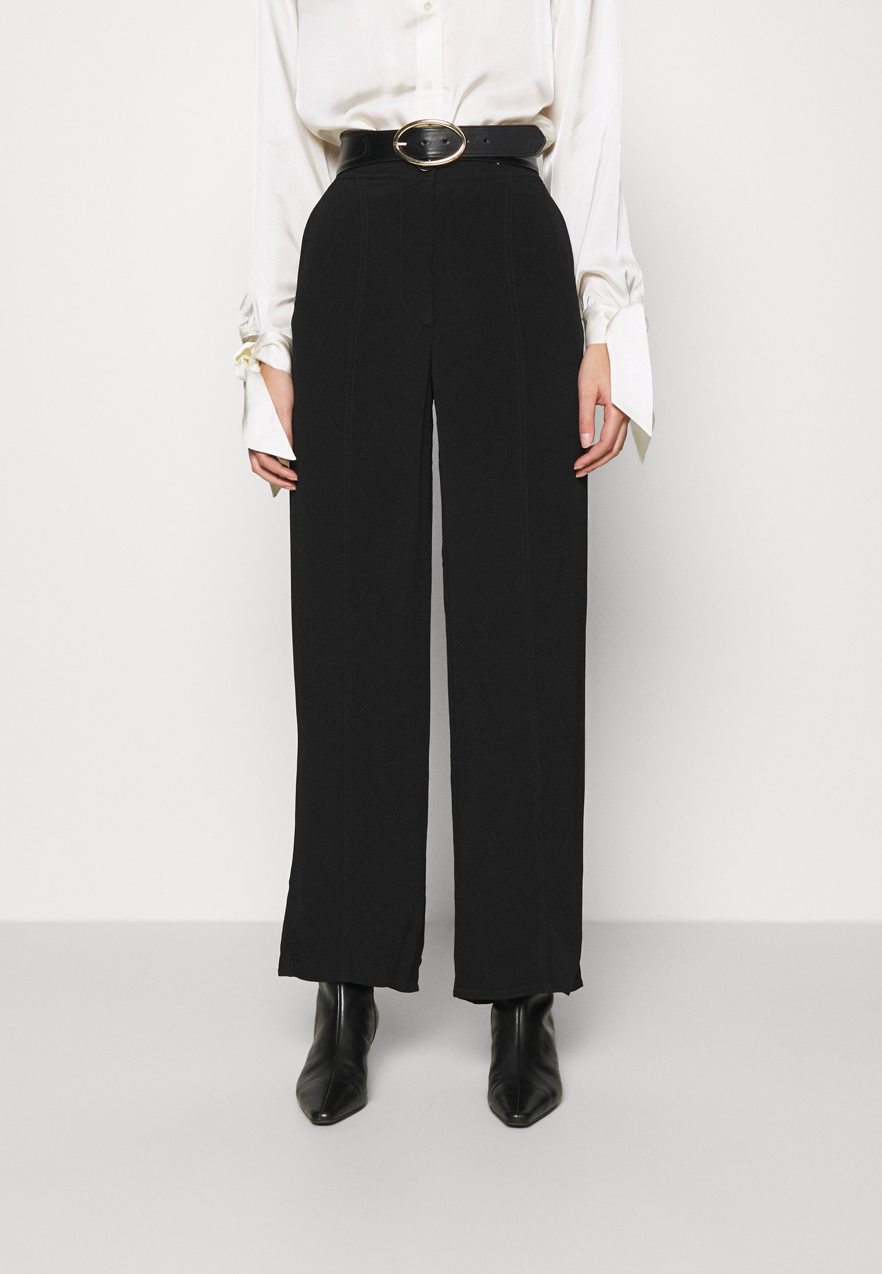 Women WIDE LEGGED TROUSER - Trousers