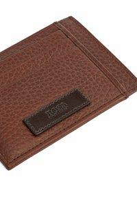 BOSS - Business card holder - open brown - 3