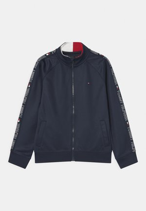 TAPE ZIP - Veste de survêtement - twilight navy
