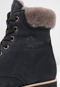Panama Jack - IGLOO - Lace-up ankle boots - black - 2