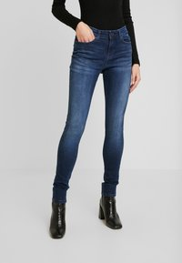 Noisy May - NMLUCY - Jeans Skinny Fit - dark blue denim - 0