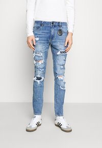AMICCI - CAPRI CARROT FIT  - Jeans Tapered Fit - lightblue - 0