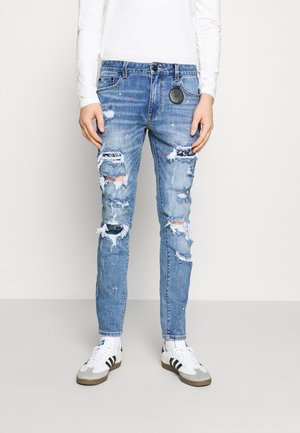 CAPRI CARROT FIT  - Jeans fuselé - lightblue