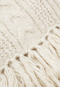 Marc O'Polo - SCARF CABLE HIGHLIGHT - Scarf - chalky sand melange - 2