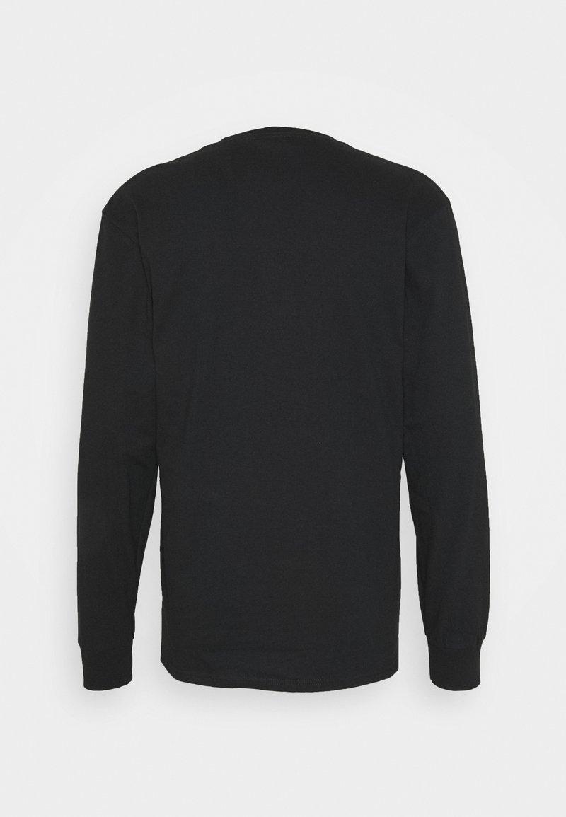 HUF WOZ EMBROIDERY TEE - Langarmshirt - black/schwarz DTIciF
