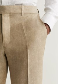 Mango - FLORIDA - Pantalon de costume - open beige - 4