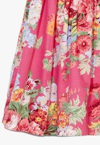 Polo Ralph Lauren - FIT DRESSES - Denní šaty - pink multi - 2