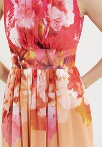 Swing - Day dress - light orange / old rose - 4