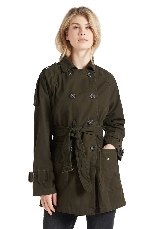 INESSA - Trench - oliv