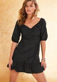 Next - TAFFETA  - Cocktail dress / Party dress - black - 0
