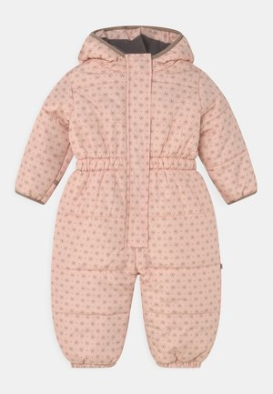 SCHNEEOVERALL FUNKTIONSWARE OUTDOOR - Snowsuit - hellrosa