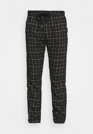 DRAKE CUFFED PANT - Trousers - shadow