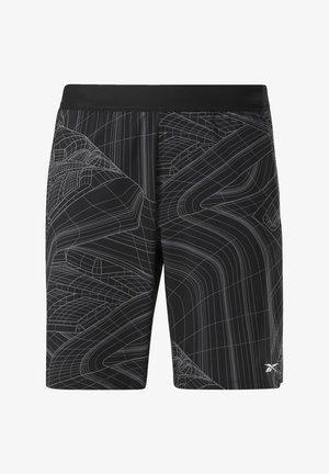 SPEED SHORTS - Sports shorts - black