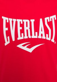 Everlast - BASIC TEE RUSSEL - Triko s potiskem - red - 2