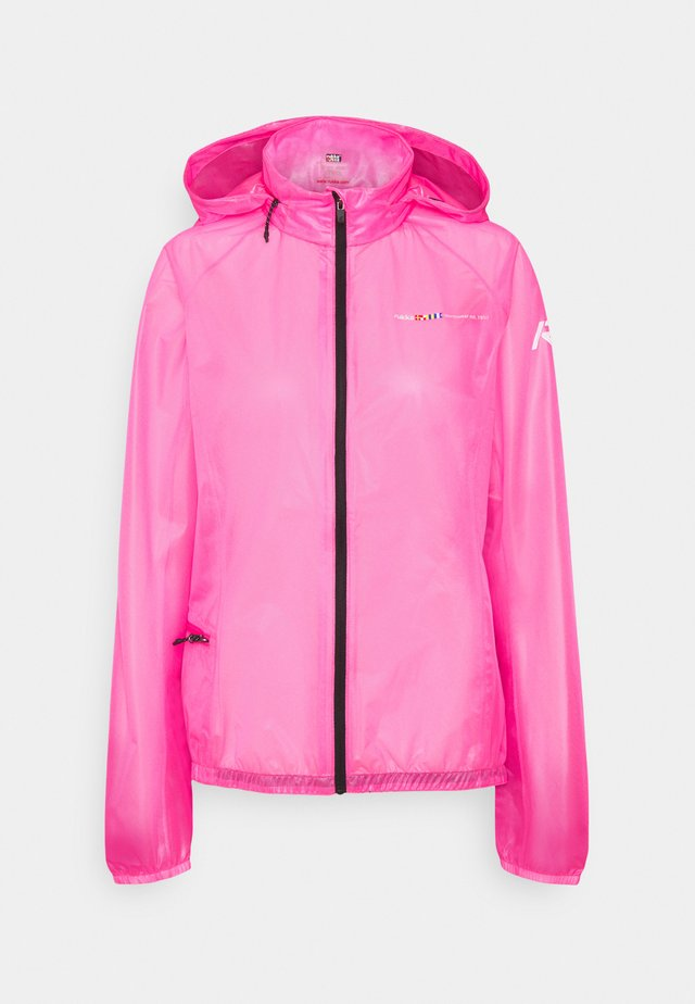 MAKULA - Waterproof jacket - pink