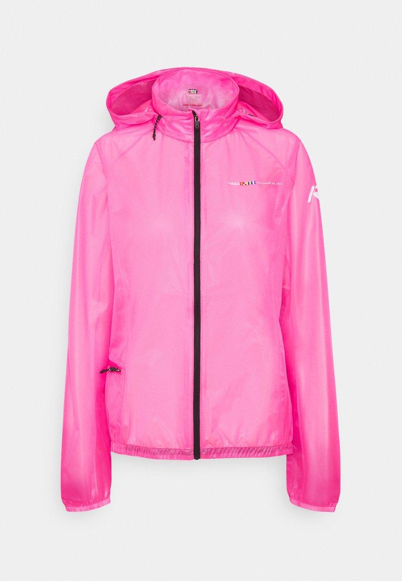 Rukka - MAKULA - Vodotěsná bunda - pink