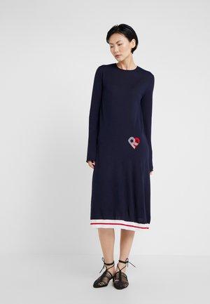 Jumper dress - lapis
